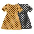 63042 POLKA DOT A-LINE DRESS