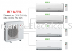 MITSUBISHI MULTI SPLIT INVERTER R410A MITSUBISHI ELECTRIC