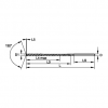 Series TDD108 ・ Top Drill Deep Hole ・ 2 Flute ・ WU20PD ・ 30 x D ・ Z Shank Top Drill Deep Hole Widia Hole Making