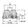 M1200 Mini ・ 45° ・ Shell Mills ・ Metric M1200 MINI FACE MILL FACE MILL 45° Widia  Indexable Milling