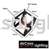 NSB-Z1044-BK-3LB Loft Industry Pendant Light LOFT INDUSTRY LIGHT
