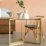 RATTAN DINING CHAIR RS WORLD