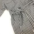 OL5523 LeAnn Plaid Sleeve Blouse【Value Buy】
