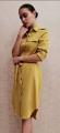 OL6612 LEANN TIE SHIRT DRESS 【2ND 50%】