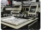 TCL-1201 Single Head LM Type Compact Tubular Embroidery Machine Embroidery Machine