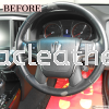 TOYOTA ATHLETE CROWN STEERING REPLACE SYNTHETIC LEATHER Steering Wheel Leather