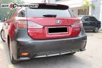 LEXUS CT200 2014 Look Rear Bumper CT 200 Lexus