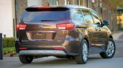 KIA CARNIVAL / SEDONA 15Y-ABOVE = INJECTION DOOR VISOR WITH STAINLESS STEEL LINING KIA INJECTION