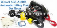 AIRCOND AUTO OUTDOOR LIFTING TOOL SET SCS-A15065 (MAX CAPACITY : 150KG / LIFTING HEIGHT : 65FT/20M) WECOOL MATERIAL LIFT
