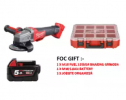 Milwaukee M18 FUEL Cordless High Performance SDS-Plus Hammer Drill M18 CHPX-502C (Battery 2 x M18 5. MILWAUKEE POWER TOOLS