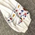 820182 EMBROIDERED SLEEVE BLOUSE 【1ST 10% 2ND 15% 3RD 20%】