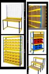 Boltless - Blue & Yellow Light Duty Racking System