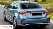 TOYOTA COROLLA / ALTIS (E210) SEDAN 19Y-ABOVE = INJECTION DOOR VISOR WITH STAINLESS STEEL LINING TOYOTA INJECTION