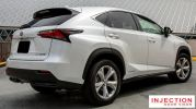 LEXUS NX (AZ 10) 15Y-ABOVE = INJECTION DOOR VISOR WITH STAINLESS STEEL LINING LEXUS INJECTION