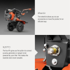 Husqvarna TF544: Diesel Power Tiller, 418cc, Depth:300mm, Width: 1100mm  others Agricultural (Husqvarna)