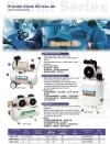 Swan DR115-22L Oil Less/ Free Air Compressor 1.5HP 7Bar FAD122L/min 1phase ID444844    Swan  Air Compressor