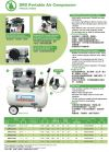 Taiwan Swan DRS210-22 Oil Less/Free Air Compressor 1HP, 7Bar, FAD137L/min, 1phase ID009480  Swan  Air Compressor