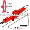 【RM31】2 Ton Heavy Duty Car Floor Scissor Jack Automotive Vehicle Van SUV Truck Emergency Repair Kit Home Improvement Home Living