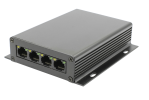 4 port PoE supporting High-Speed Ethernet LAN extender High Speed LAN & Ethernet Over Copper Extenders Interface Converters AD-Net