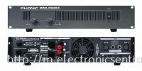PHONIC POWER AMPLIFIER MAX2500 POWER AMPLIFIER PA SYSTEM