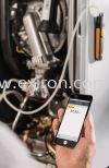 Testo differential pressure measuring instrument with smartphone operation 510i Testo Measurement Solution