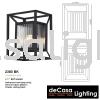 Outdoor Wall Light (2380-BK) Outdoor Wall Light OUTDOOR LIGHT