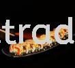 OTS-142 Salmon Belly Slice Aburi 12gm (Big Neta) (HALAL) Sushi Topping / Ready To Eat Sushi Topping&Side Dish