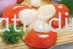 KTF-007 Boiled Scallop With  Roe  (HALAL) Sushi Topping / Ready To Eat Sushi Topping&Side Dish