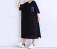 Sheisahero Korea - Cotton Dress 2410/20 Korea Designer - Kim Sung-Hea Dress