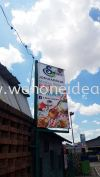 Supermarket Street Bunting Bunting Bunting & Banner