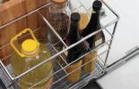 Multi function Three Layers Pull Out  Basket Premium High Quality Baskets Kitchen Storage and Fittings