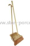 118 Dustpan + Broom Brooms Housekeeping Household