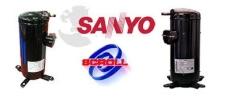 C-SB373 SANYO COMPRESSOR MOTOR  C-SB303 - C-SB763 SANYO COMPRESSOR  COMPRESSORS