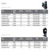 PH340X2CS TOSHIBA COMPRESSOR MOTOR  PH165 - PH480 TOSHIBA COMPRESSOR  COMPRESSORS