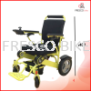 Fresco Lightweight Folding Electric wheelchair FD09 For Airplane Travel Double Battery Best for Trav Others