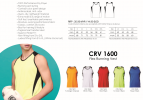 Flex Running Vest - CRV 1600 Running Sport Wear Uniform