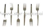 6PCS S/STEEL FORK Fork Dining Set