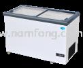 Flat Glass Sliding Lid Series Chest Freezer Range Commercial Refrigeration