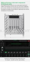 Crossfire DSP 680AM 4S Pro Series 8 Channel Amplifier Output DSP With HiRes Player Build in Crossfire Audio Processor