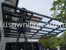 Polycarbonate with louvers @Jalan Taming Indah 3, Sungai Long, Kajang, Selangor  Polycarbonate Skylight & Roofing