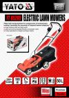 Yato YT-85205  Electric Lawn Mowers 1800W 380mm 50L ID32003  Lawn Mower & Trimmer (Petrol & Gasoline)  Agricultural