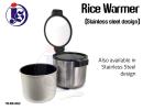 Stainless Steel Rice Warmer (S/S design) Rice Warmer Food Storage