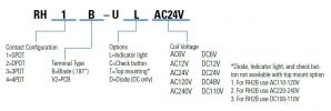 RH Series, Idec Plug In Relay Relays and Contactors