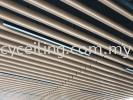Baffle Ceilling  Aluminium Baffle Ceiling