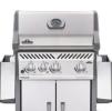 Napoleon Rogue® 365SBP (Full Black) with Range Side Burner Gas BBQ Grill Napoleon Gas Grills