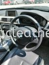 BMW F30 STEERING REPLACE ALCANTARA LEATHER Steering Wheel Leather
