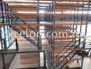 Multi-Tier Storage with G.I.Floor Plank Walkway Racking with Mezzanine Platform