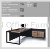 Director Table Set Package Deal - TSL-801+TB-L11+L013 Director Table Series Office Furniture