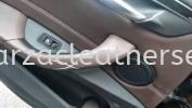 BMW X1 REPLACE DOOR HANDLE Car Door Panel Leather