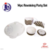 14PC Revolving Party Set Dome Set Food Storage